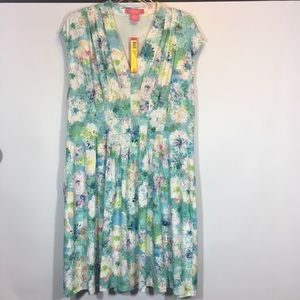 Catherine malandrino summer dress floral xl